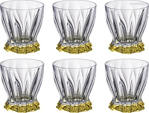 Набор стаканов ДЛЯ ВИСКИ из 6 шт. PLANTICA 280 мл ВЫСОТА=10 СМ. - Aurum-Crystal