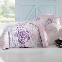 Постельное белье Altinbasak Ilma, сатин, цвет розовый, размер 2-спальный - Altinbasak Tekstil