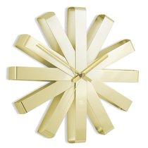 Часы настенные Ribbon латунь - Umbra