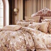 Комплект постельного белья RS-219, цвет бежевый, Семейный - Famille