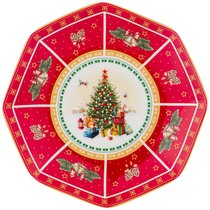 Блюдо Малое Christmas Collection, Диаметр 18,5 см - Jinding