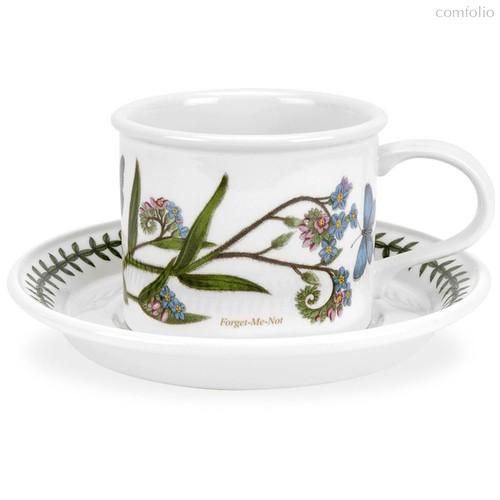 """Чашка для завтрака с блюдцем Portmeirion """"Ботанический сад. Незабудка"""" 260мл - Portmeirion"""