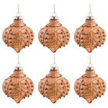 Набор Из 6-Ти Декоративных Изделий Коллекция Винтажшар Диаметр 8 См,Высота 9 См Цвет: Бронза - Dalian