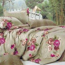 Комплект постельного белья С-209, цвет бежевый, размер 1.5-спальный - Valtery