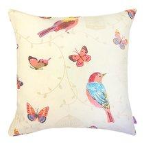 """Чехол для декоративной подушки """"Pajaros"""", 43х43 см, P702-1831/1, цвет оранжевый, 43x43 - Altali"""