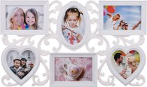 Фоторамка-Коллаж 53x33x3 см На 6 Фото 10x10/15x10 См - Polite Crafts&Gifts