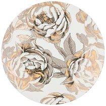 Тарелка Обеденная Golden Rose 27 см, Белая - Porcelain Manufacturing Factory