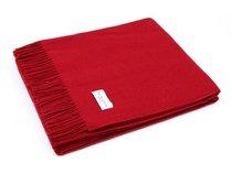 Плед LARA Bordeaux, цвет бордовый, 150 x 200 - Italian Woollen Treasures