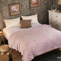 """Плед Cleo """"MORESKA"""" велсофт полуторный 150*200 150/016-OPM, цвет светло-розовый, 150 x 200 - Cleo"""