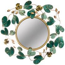 Зеркало Настенное Коллекция Цветочная Симфония 71,8x75,6x6,4 см Диаметр 37 см - FUZHOU SMART HOME DECORATION