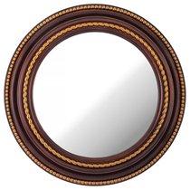 Зеркало Настенное Lovely Home Диаметр 52 см Цвет Кофейный - Arts & Crafts