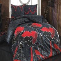 КПБ COTTON LIFE 1,5 сп. (70*70/2 шт.) JULIET, цвет красный, 1.5-спальный - Meteor Textile
