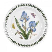 "Тарелка закусочная Portmeirion ""Ботанический сад. Ирис"" 20см - Portmeirion"