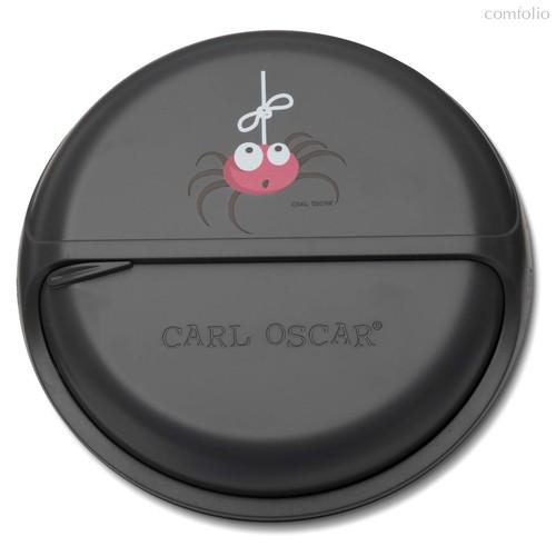 Ланч-бокс для перекусов SnackDISC™ Spider серый, цвет серый - Carl Oscar