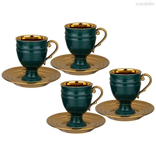 Чайный Набор Lefard На 4 Персоны 8 Пр. 250 мл Зеленый - Rongshengyuan