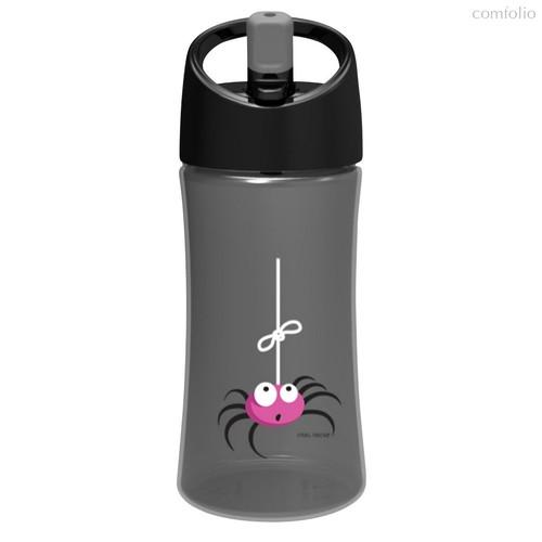 Детская бутылка для воды Carl Oscar Spider 0.35л серая, цвет серый - Carl Oscar