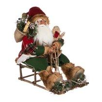 Кукла Санта Клаус 47x30 см высота 50 см - Reinart Faelens