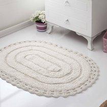 Коврик для ванной Yana, кружевной, цвет кремовый, 50x70 - Bilge Tekstil