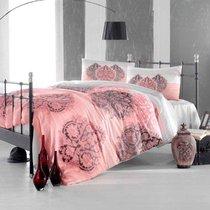 Постельное белье Ranforce 50х70*1 шт LEYAN, цвет фуксия, размер 1.5-спальный - Altinbasak Tekstil