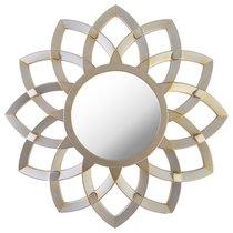 Зеркало Настенное Swiss Home Диаметр 76 см Цвет Серебро - Arts & Crafts