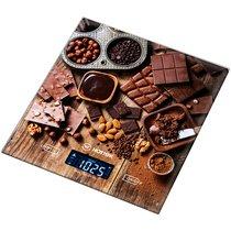 Весы Кухонные Шоколад Hottek Ht-962-026 18X20Cm, МаксВес 7Кг - Keyon