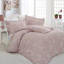 Постельное белье Altinbasak Sehrazat, сатин, цвет красный, Евро - Altinbasak Tekstil