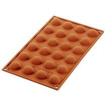 Форма для приготовления пирожных Semisfera 17,5 х 23 см силиконовая - Silikomart