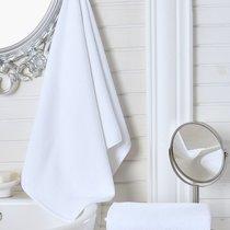 """Полотенце гостиничное """"LINA"""" 450gsm 20/2 50x100 см 1/1, цвет белый, 50x100 - Bilge Tekstil"""
