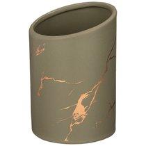 Подставка Для Столовых Приборов Коллекция Золотой Мрамор Цвет: Gray 10,8x16 см - Porcelain Manufacturing Factory