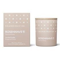 Свеча ароматическая ROSENHAVE с крышкой, 65 г (новая) - Skandinavisk