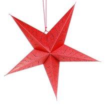 Светильник подвесной Star с кабелем 3,5 м и патроном под лампочку E14, 60 см., красный, цвет красный - EnjoyMe