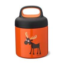 Термос для еды LunchJar™ Moose 0.3л оранжевый, цвет оранжевый - Carl Oscar