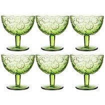 Бокалы для коктейлей Джангл 6 шт. Серия Muza Color 320 мл Высота 11 см - Dalian