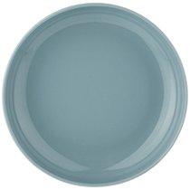 Тарелка Глубокая Majesty 20,5 см Голубая, цвет голубой, 20.5 см - Shunxiang Porcelain