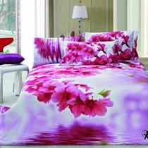 Комплект постельного белья RS-116, цвет розовый, Евро - Famille