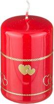 Свеча Валентинка Высота 9 см Диаметр 6 см - Adpal