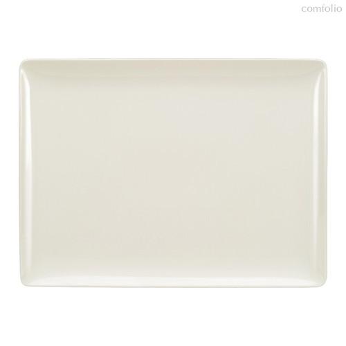 Тарелка прямоугольная Coupe 27x20 см, плоская, Purity - Bauscher