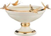 Чаша Декоративная Бабочки Высота 22 см Диаметр 33,5 см - Ceramiche Stella