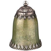 Светильник С Led-Подсветкой И Металл.Элементами, Д 12 см, В 18,5 см, Зеленый - Comego