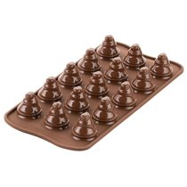 Форма для приготовления конфет Choco Trees силиконовая - Silikomart
