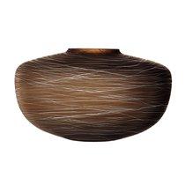 Ваза Boulder 17,5 см коричневая - LSA International