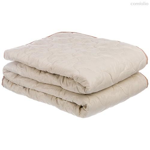 Одеяло ВЕРБЛЮЖЬЯ ШЕРСТЬ 200*220 СМ МИКРОФИБРА,50% ВЕРБЛЮЖЬЯ ШЕРСТЬ,50% СИЛИКОН.ВОЛОКНО ПЛОТНОСТЬ 2, 200x220 см - Бел-Поль