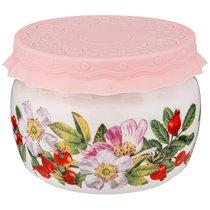 Банка С Силиконовой Крышкой Шиповник 500 мл - Shunxiang Porcelain