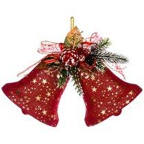 Декоративное Панно Колокольчики Цвет Красный 20 см - Polite Crafts&Gifts