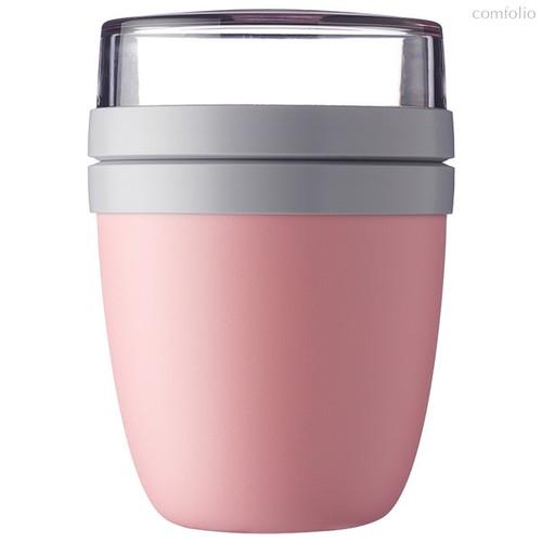 Ланч-бокс двухкамерный Mepal 500мл+200мл (розовый) - Mepal