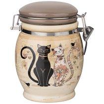 Емкость Для Сыпучих Продуктов Парижские Коты Высота 15 см / 750 мл - Huachen Ceramics