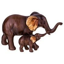 Статуэтка Слоны 22x9x12см - Kenton