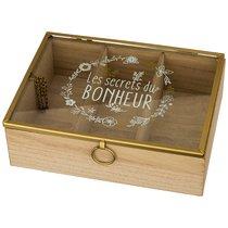 Шкатулка С 3-Мя Отделениями 20x15x6 см - Polite Crafts&Gifts