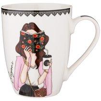 Кружка Lefard Fashion Queen 340 мл - Jingtao Ceramic