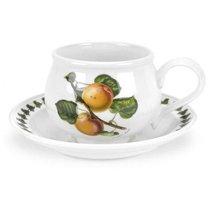 "Чашка чайная с блюдцем Portmeirion ""Помона.Абрикос"" 200мл - Portmeirion"